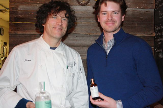 Chef Jamie Kennedy and Geoff Dillon