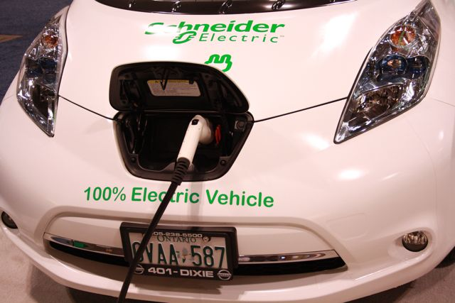 "Besides eating ""farm fresh"" food at the show, you will find me staring at Electric Cars."