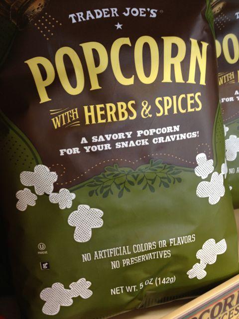 trader joes - popcorn