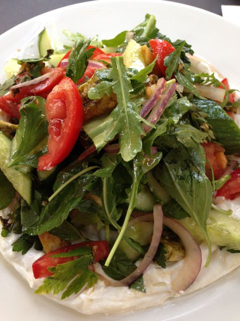 food - fatoush salad