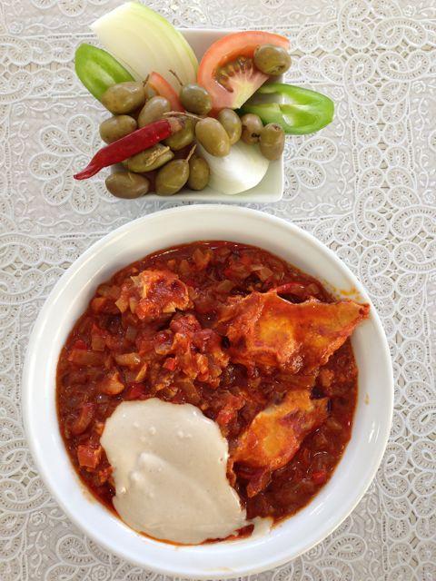 food - shakshuka