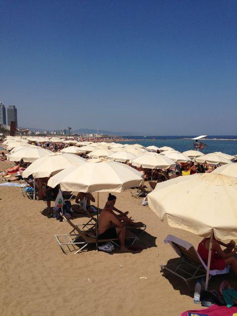 barcelona - beach