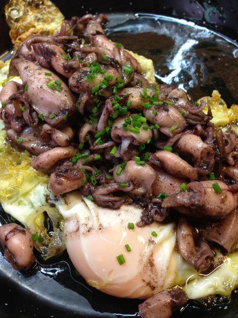 barcelona - el quim squid:eggs