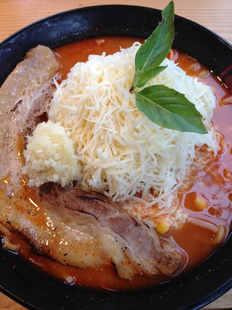 Cheesy Ramen from Kinton Ramen
