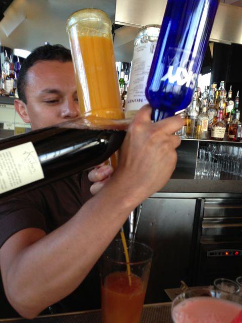 w hotel - bartender