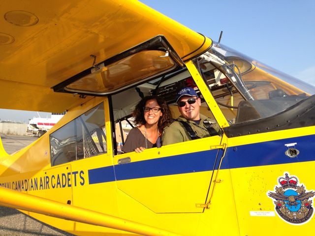 air show - me and pilot