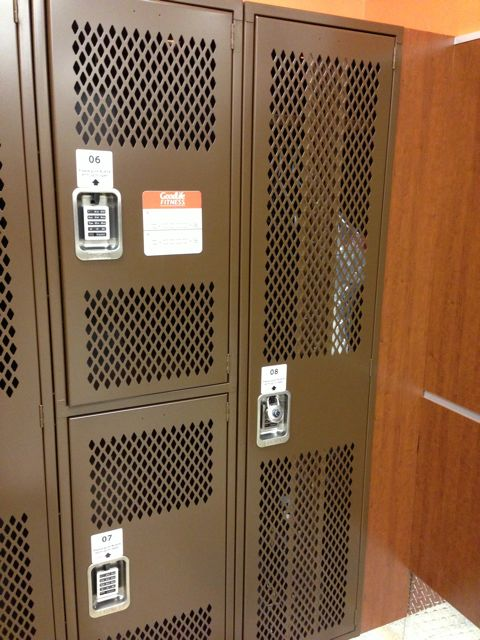 gym - lockers