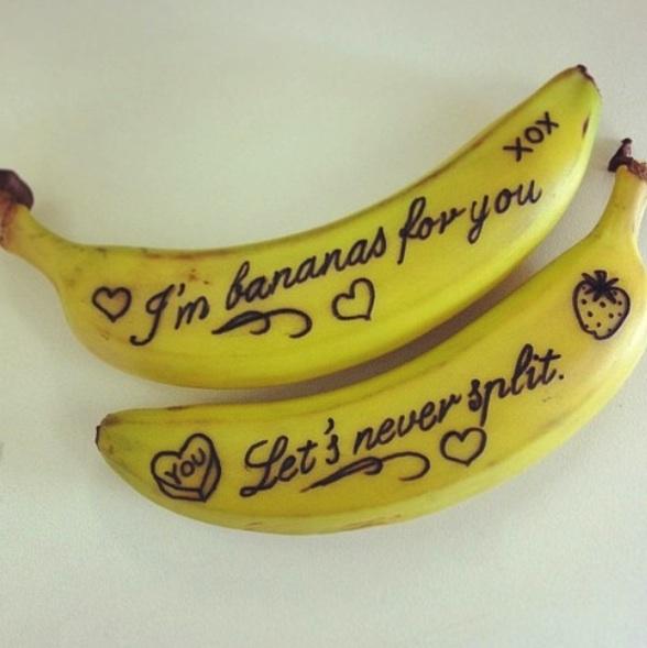 valentines - banana