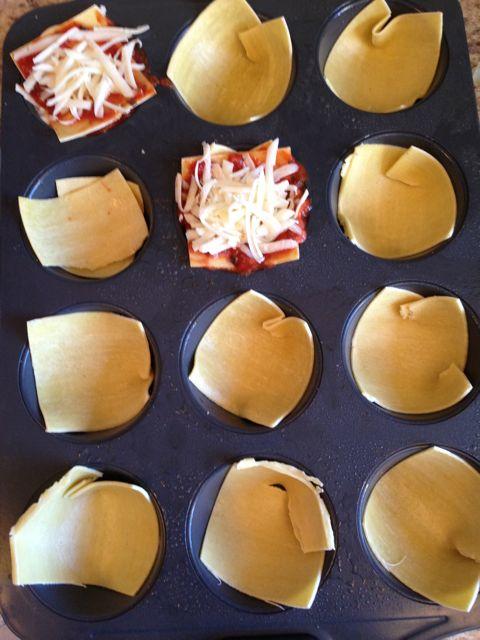 lasagna - tray
