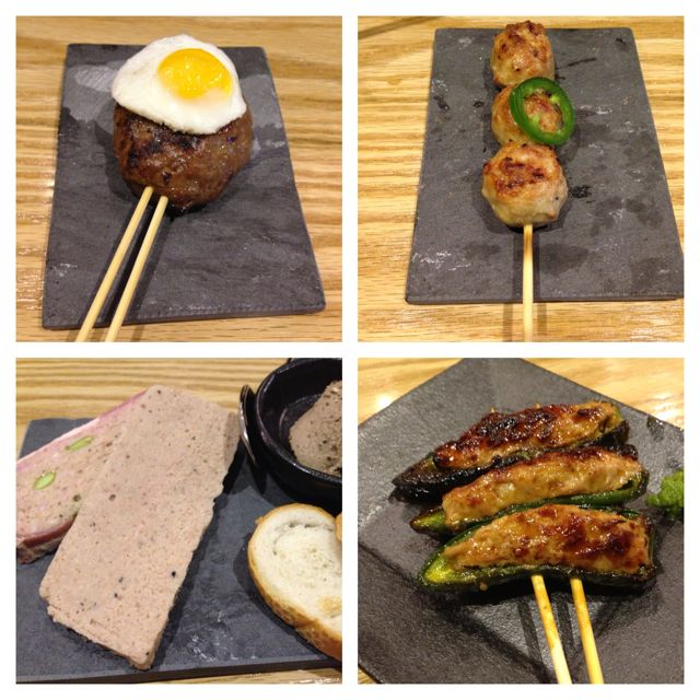 yakitori - dinner