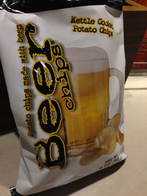 grocery - beer chips