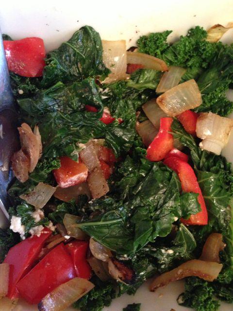 veggies - kale