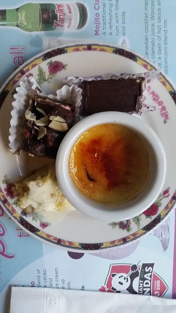 mandarin - dessert