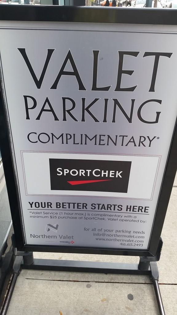 sports - valet