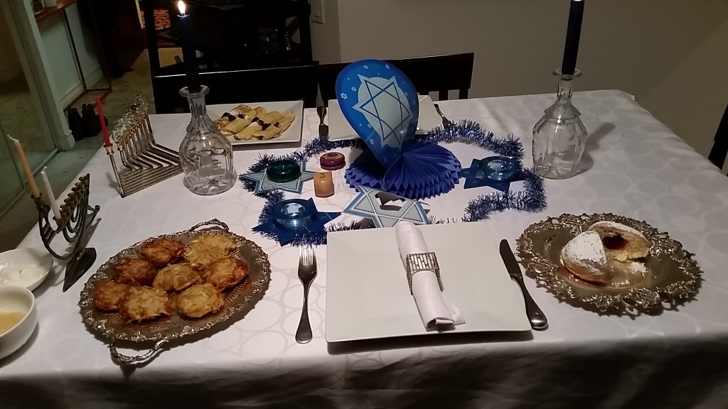 latkes -table