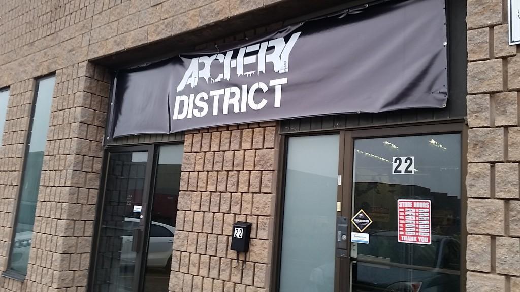 archery - sign