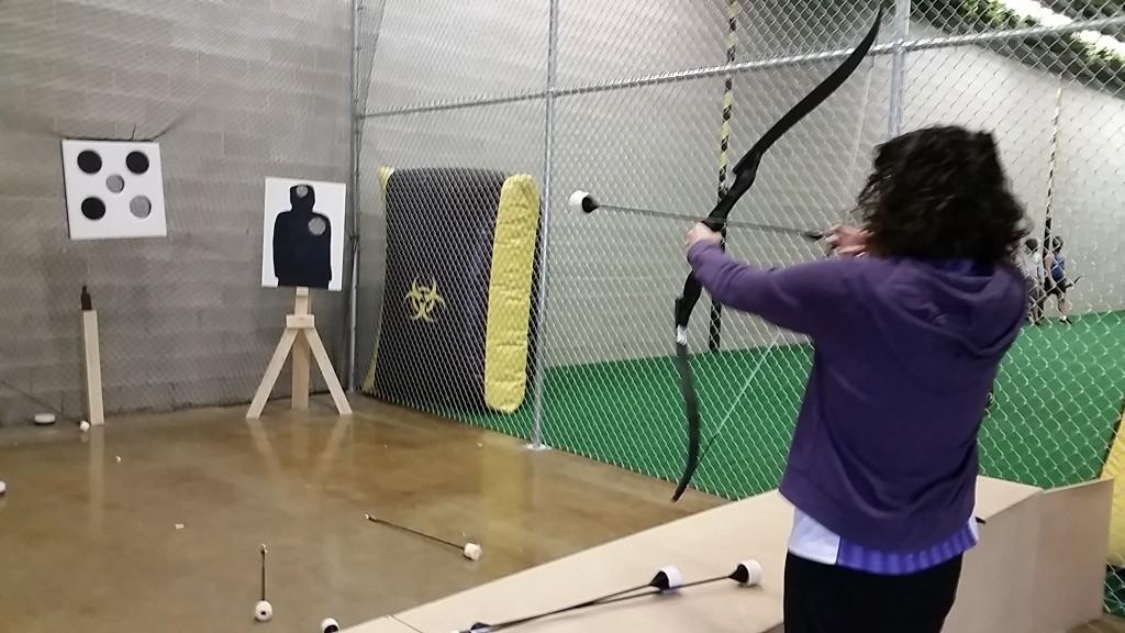 archery - vicky