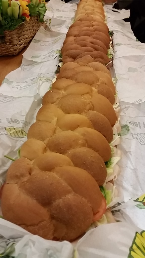 birthday - subway