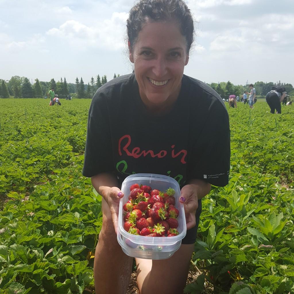 canada - strawberry