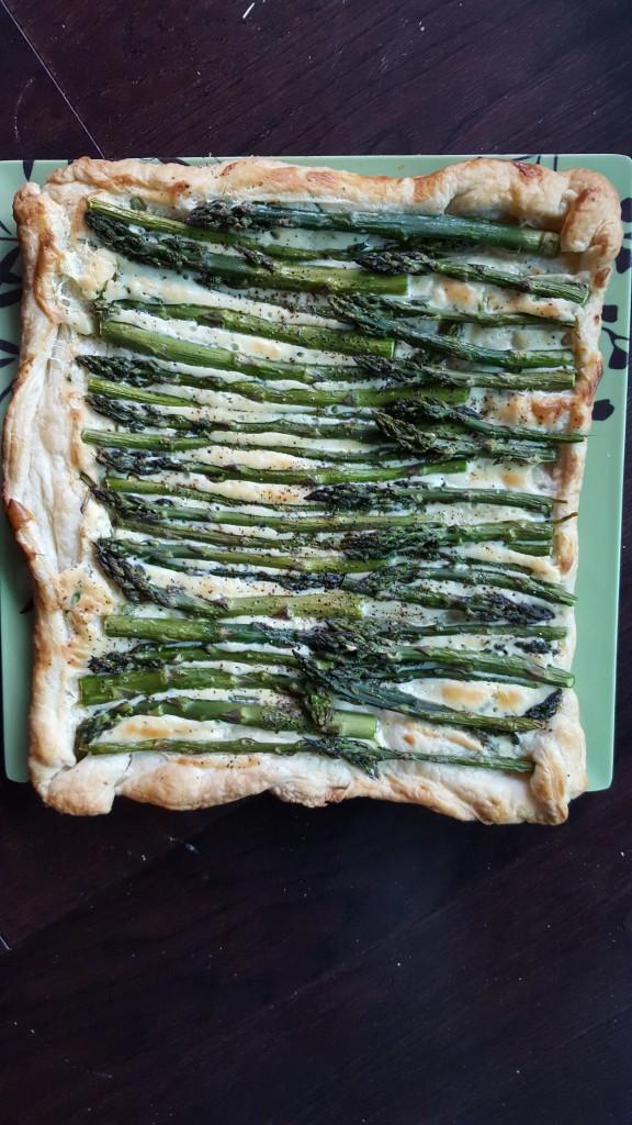 asparagus - tart