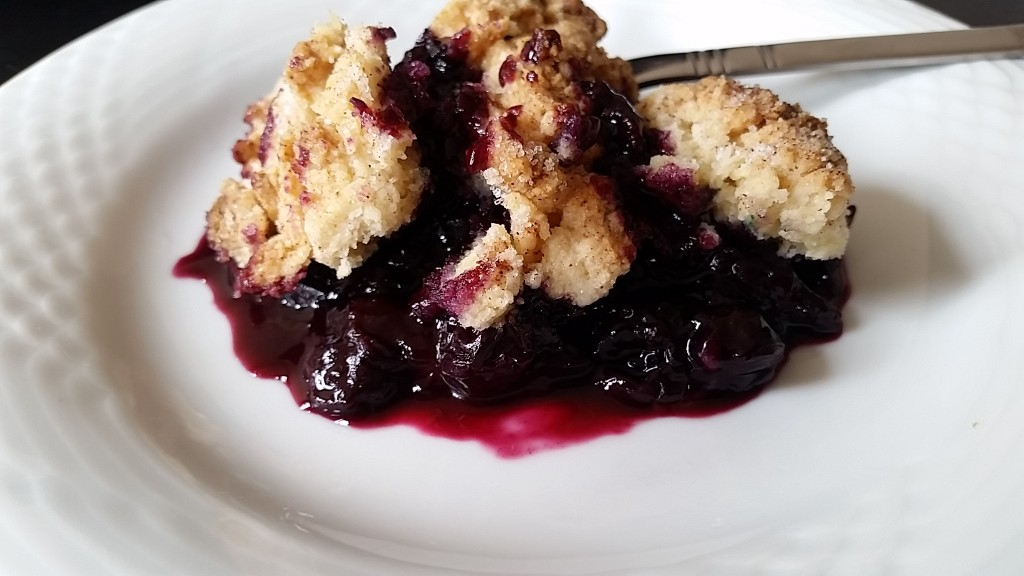 blueberry - plate