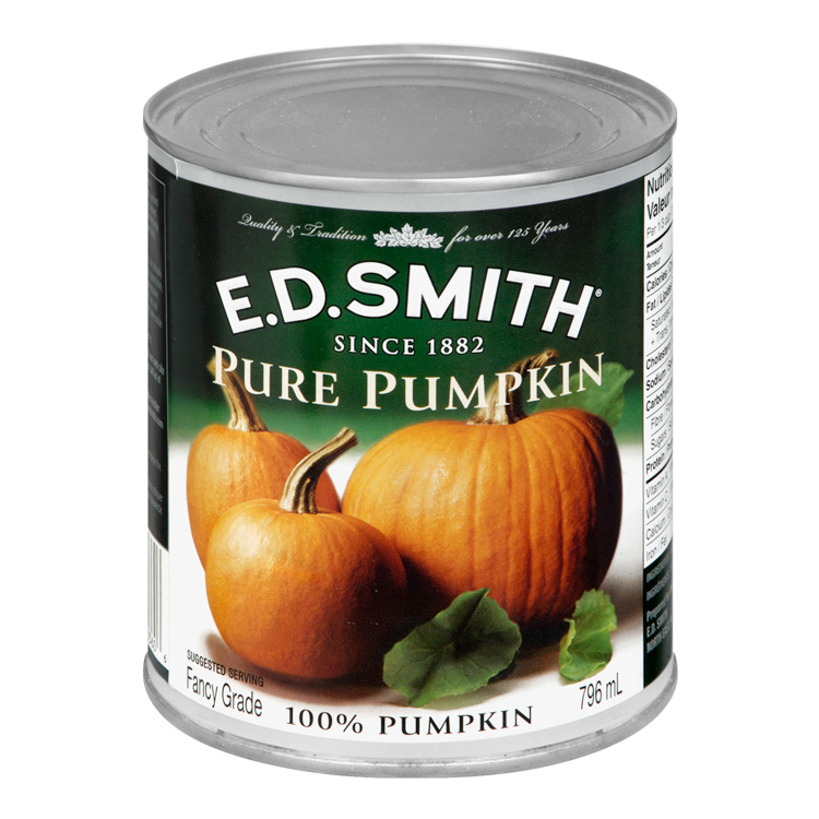 pumpkin pie can