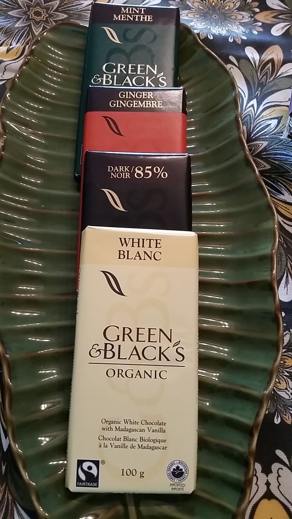chocolate - green
