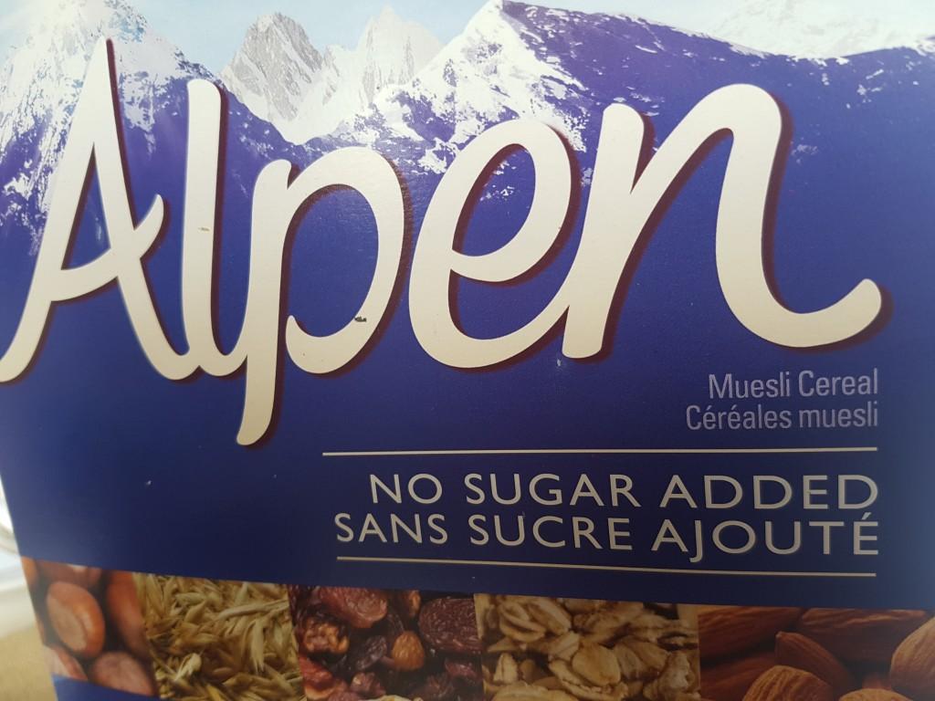 weetabix - alpen