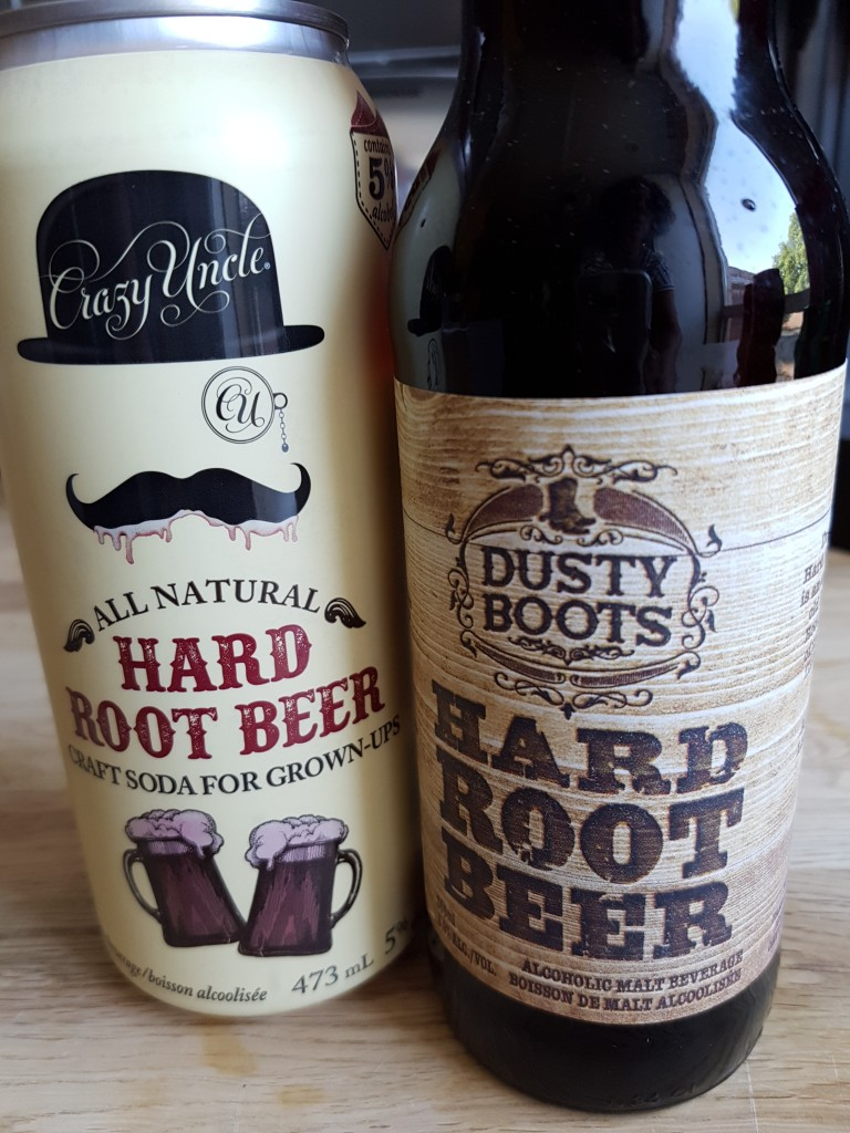 drinking - hard root beer