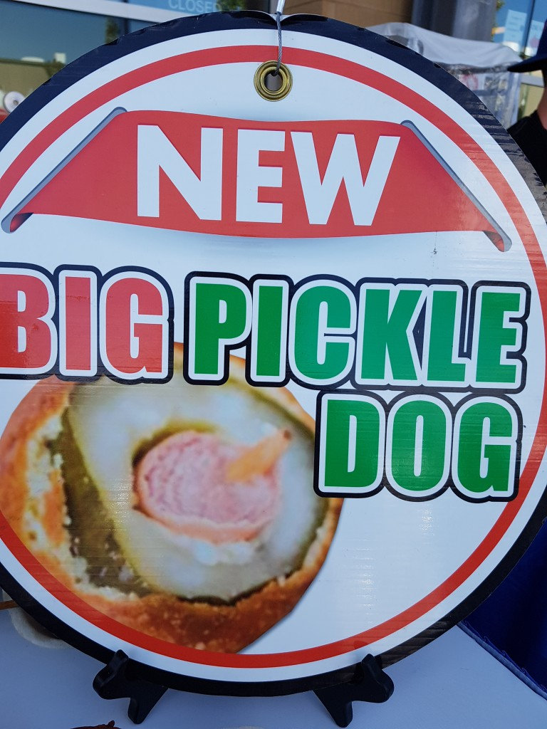 CNE - deep fried pickledog