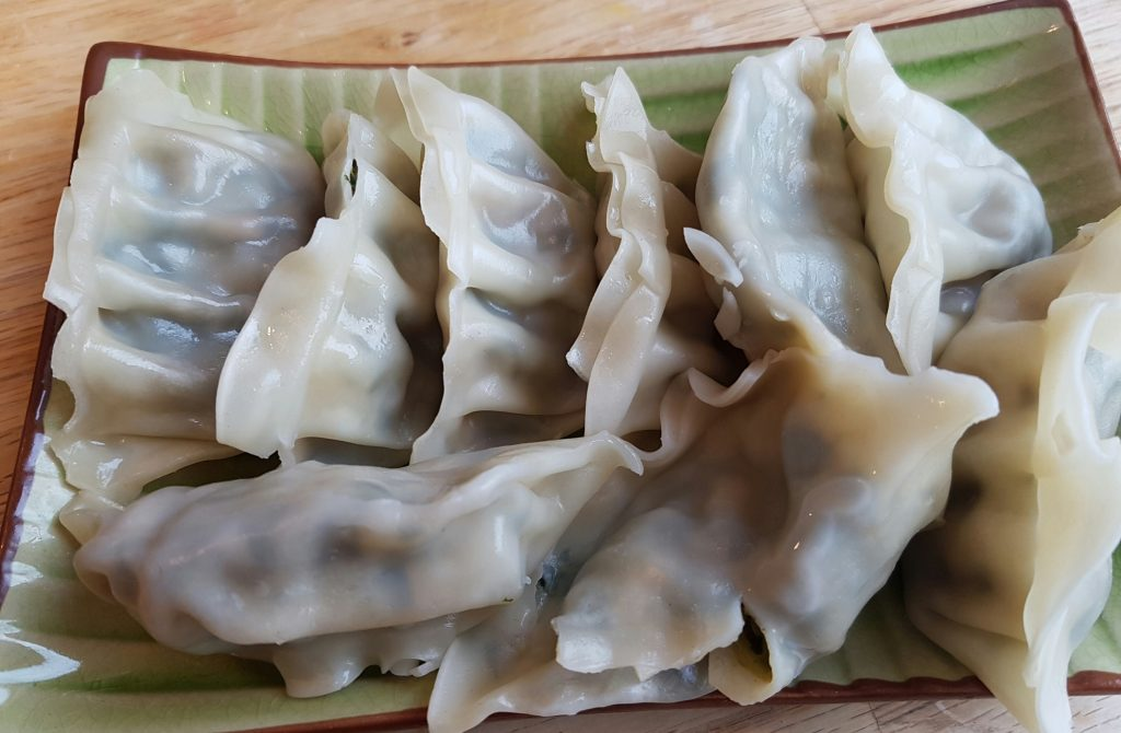 entertaiing - potstickers