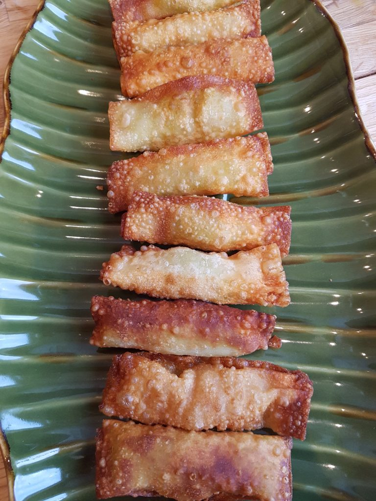 entertaining - eggrolls