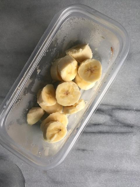 frosty - banana
