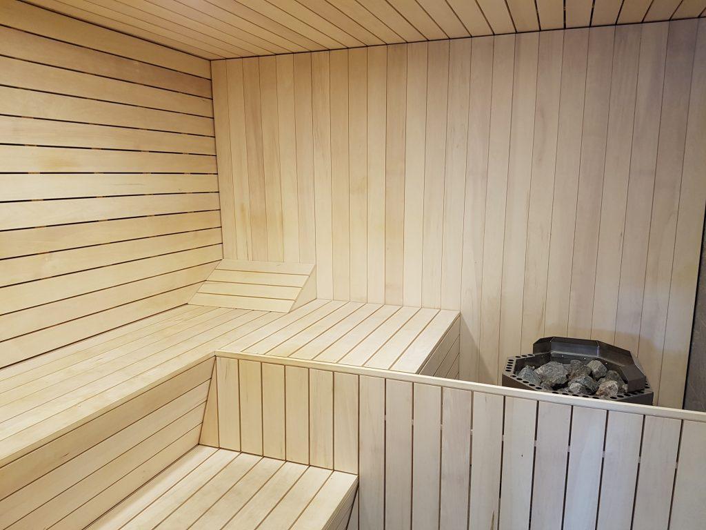 langdon - sauna