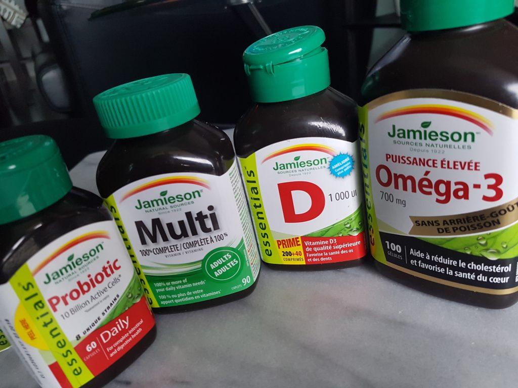 jamieson - 4 bottles