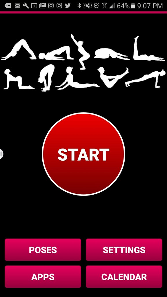 yoga - app