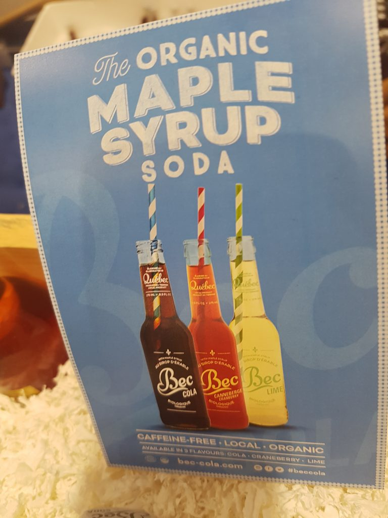 rc - organic maple syrup soda