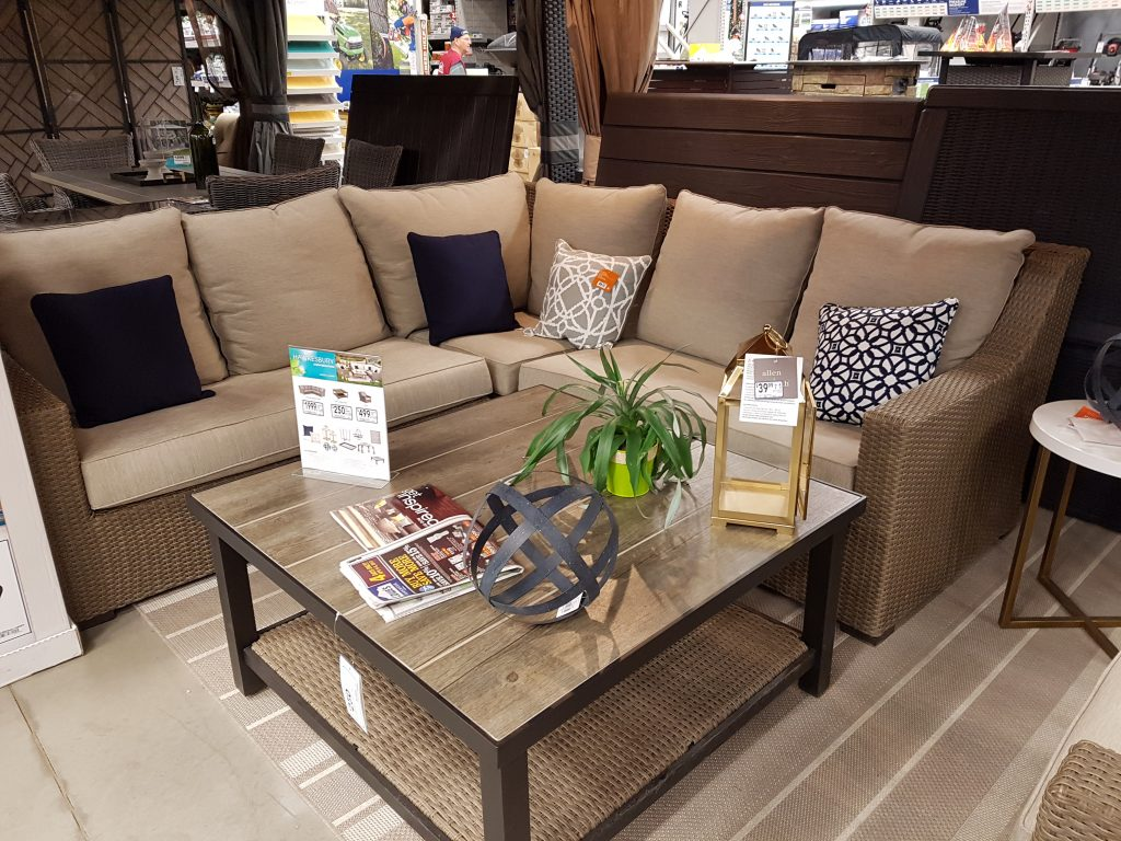 lowes - patio furniture