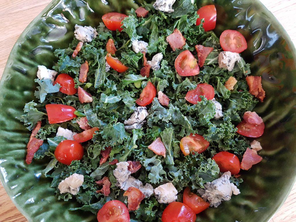 salad - kale?