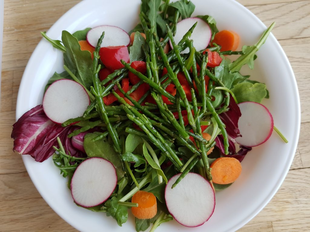 salad - sea asparagus